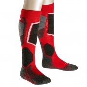Falke SK2 Kids Ski Sock in Lipstick Red