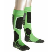 Falke SK2 Kids Ski Sock in Vivid Green