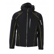 Descente Prospect Down Mens Ski Jacket in Black and Yellow