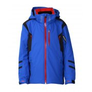 Descente Gibson Boys Ski Jacket in Royal Blue and Black