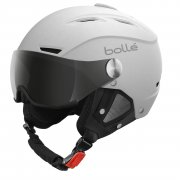 Bolle Backline Visor Ski Helmet in Soft White