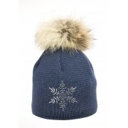 Steffner Sky Womens Ski Hat In Petrol Blue