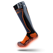 Thermic PowerSock Standard Heat Unisex In Black and Orange