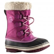 Sorel Yoot Pac Nylon Kids Snow Boot In Very Berry