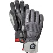 Hestra Mens Jon Olsson Pro Model Ski Glove in Grey and Black