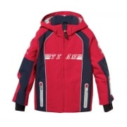 Bogner Dean Boys Ski Jacket in Red