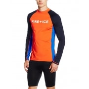 Bogner Ted Mens First Layer Top in Orange