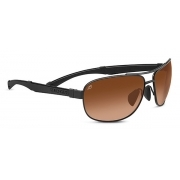 Serengeti Norcia Satin Black With Drivers Gradient Lens