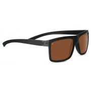 Serengeti Brera Sanded Black Dark Gun With Polarized Driver Lens