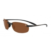 Serengeti Le Mans Nuvola Satin Black With PhD Polarized Lens