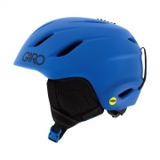Giro Nine JR MIPS Junior Ski Helmet in Matte Blue