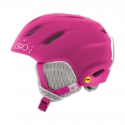 Giro Nine JR MIPS Junior Ski Helmet in Matte Magenta