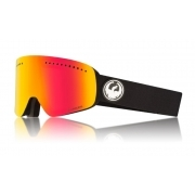 Dragon NFX Ski Goggle in Black with Lumalens Red Ion and LL Rose Lens