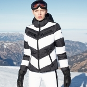 Goldbergh Mitsuko Faux Fur Womens Ski Jacket in White