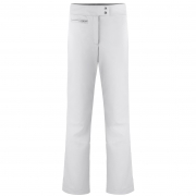 Poivre Blanc Womens Softshell Fitted Ski Pant in White