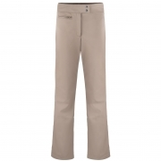 Poivre Blanc Womens Softshell Fitted Ski Pant in Dove Brown