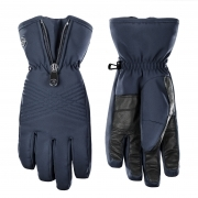 Poivre Blanc Womens Stretch Glove in Gothic Blue