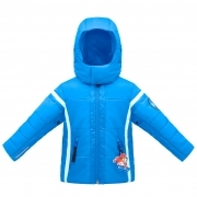Poivre Blanc Boys Ski Jacket in Persian Blue
