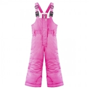 Poivre Blanc Junior Girls Bib Pants in Candy Pink