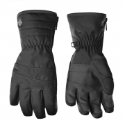Poivre Blanc Girls Glove in Black
