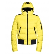 Goldbergh Kohana Bomber Womens Ski Jacket in Limelight