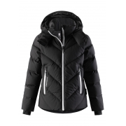 Reima Waken Girls Down Ski Jacket in Black