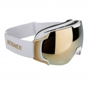 Bogner Snow Goggles Just B Gold in White