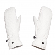 Goldbergh Natsumi Womens Leather Ski Mitten in White