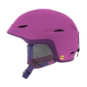 Giro Fade MIPS Womens Ski Helmet In Matte Berry/Purple