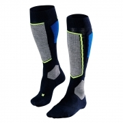 Falke SK4 Mens Ski Socks in Space Blue