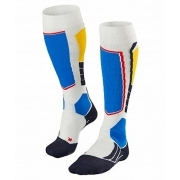Falke SK2 Mens Ski Socks in Off white