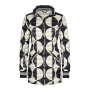 Bogner Corva DT Womens Winter Coat in Black and White
