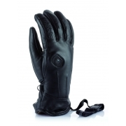 Thermic Powerglove Leather Womens Ski Glove In Black