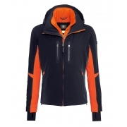 Bogner Randy T Mens Ski Jacket in Navy and Orange
