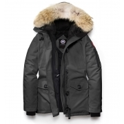 Canada Goose Ladies Montebello Parka in Grey