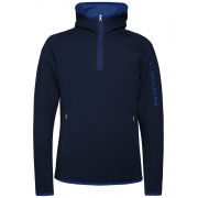 J.Lindeberg Logo Hood Midlayer Top in JL Navy
