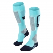 Falke SK4 Womens Ski Socks in Fiji