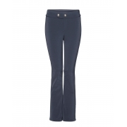 Bogner Emilia Fitted Ski Pant With Gold Detail in Navy