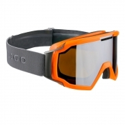 Indigo Snow Goggles Forward in Orange