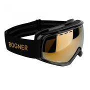 Bogner Snow Goggles Monochrome in Black Gold