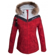 Hell Is For Heroes Sonntag Womens Ski Jacket in Red