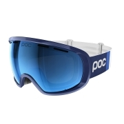 POC Fovea Clarity Comp Ski Goggle in Lead Blue With Spektri Blue
