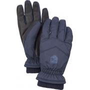 Hestra Womens Rib Knit Ski Glove in Navy