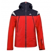 J.Lindeberg Harper Mens Ski Jacket in Racing Red