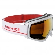 Bogner Snow Goggles Fire + Ice in White