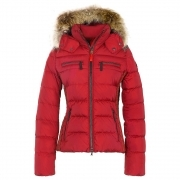 Bogner Lela D Womens Ski Jacket in Red