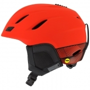 Giro Nine MIPS Mens Ski Helmet In Matte Vermillion