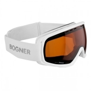 Bogner Snow Goggles Monochrome Sonar in White
