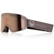 Dragon NFX Ski Goggle in Mill with LumaLens Silver Ion and Dark