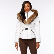 M.Miller Dianna Womens Ski Jacket in White